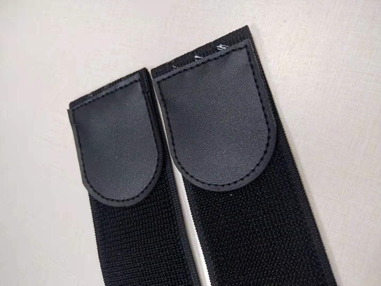 硅胶防滑弹性松紧魔术贴扎带
